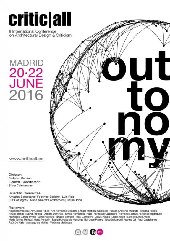 Αποτέλεσμα εικόνας για II International Conference on Architectural Design & Criticism critic|al