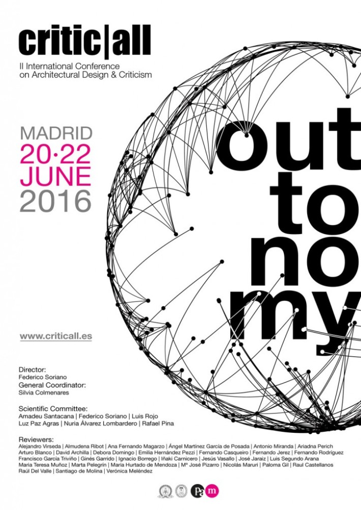 Αποτέλεσμα εικόνας για II International Conference on Architectural Design & Criticism critic|al